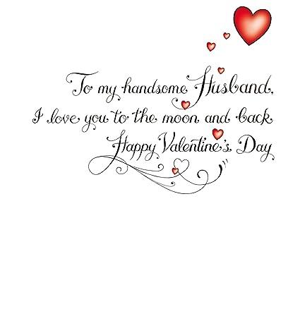 Tarjeta de San Valentín - estilo tatuaje - Love My Husband ...