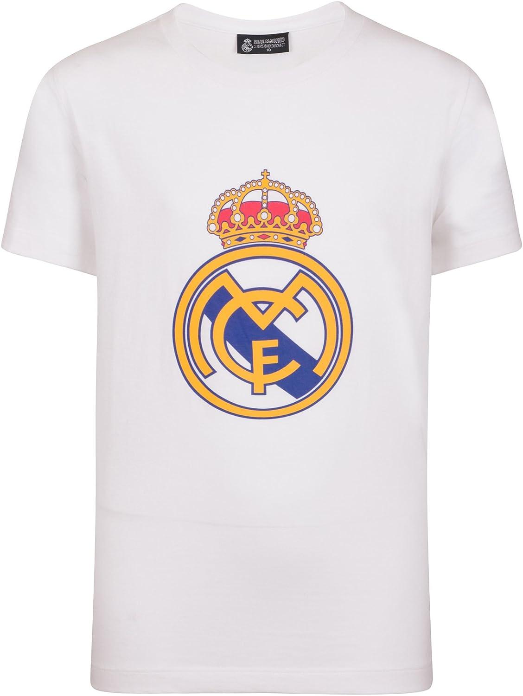 Real Madrid - Camiseta Oficial para Hombre - con el Escudo del ...