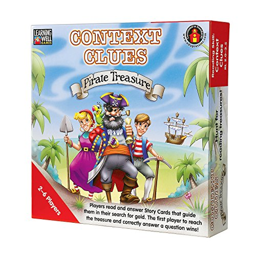 Edupress Context Clues Game, Red Level (EP60302) - Learning Well Games