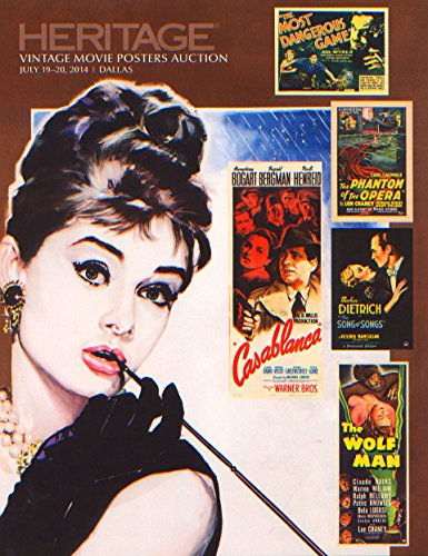 Heritage Auctions, Vintage Movie Poster Auction 2014 Catalog ()