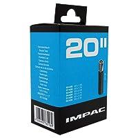 Impac Unisex AV20 Inner Tube, Black, 20 x 1.5/2.35-Inch