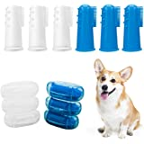 6 x Pet Toothbrush - Horsky Finger Toothbrush for Dogs Cats