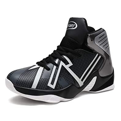 Plus Size 36-45 Men Basketball Shoes Breathable Basketball Sneakers Men Zapatillas De Baloncesto White