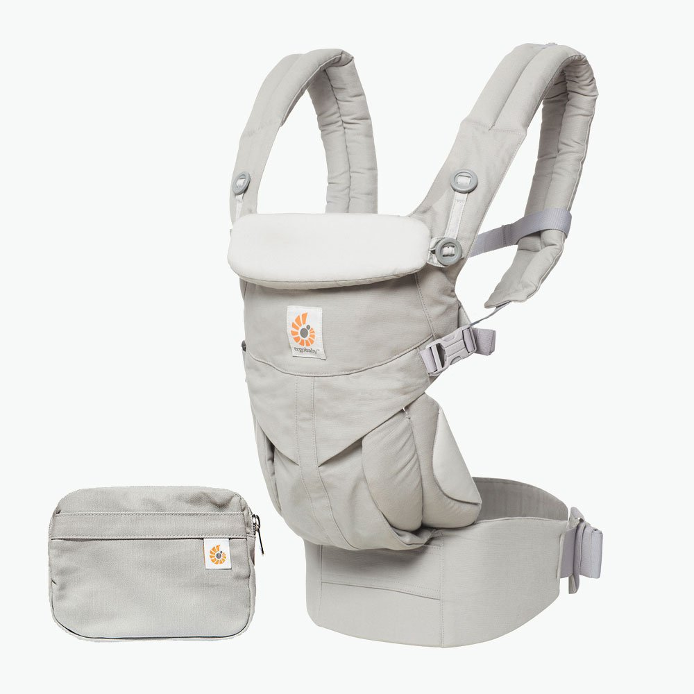 Ergobaby Carrier, Omni 360 All Carry Positions Baby Carrier, Pearl Grey by Ergobaby (Image #2)