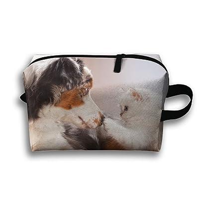 GNMB Cat And Dog Portable Receiving Bag Make-up Travel Bag Multi-function Bag