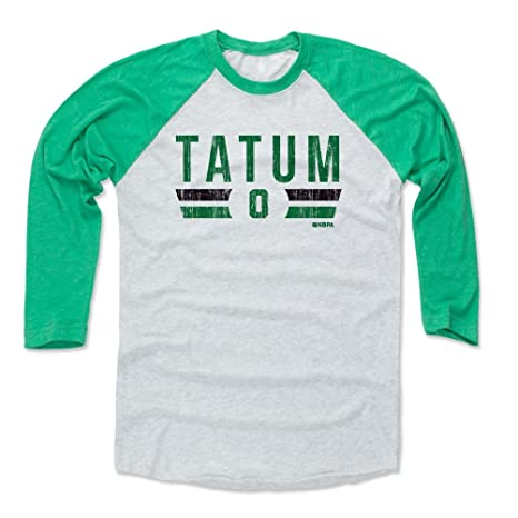 official photos 4788d 9cdd1 Amazon.com : 500 LEVEL Jayson Tatum Baseball Tee Shirt ...