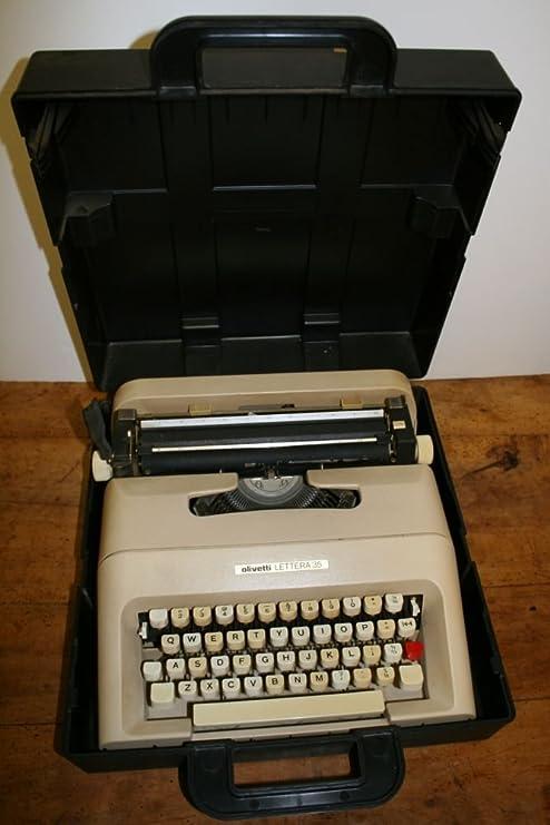 Olivetti Lettera 35 de máquina de escribir portátil diseñado por Marcello Nizzoli