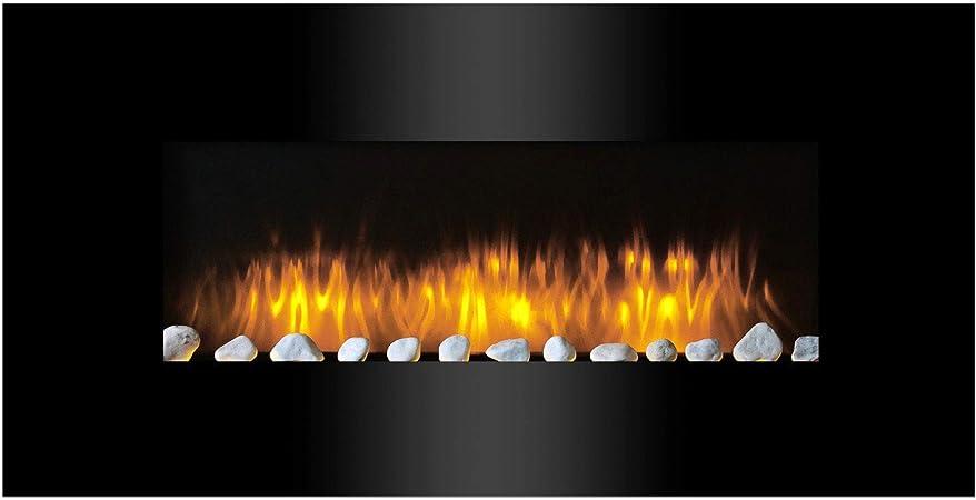Classic Fire AJ15-S Vancouver - Calefactor de Pared con Efecto ...