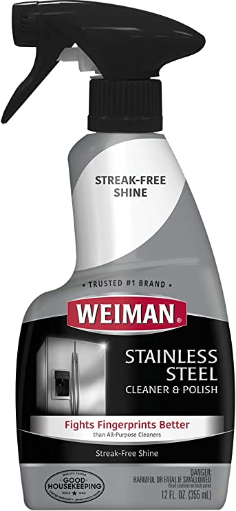 Best Stainless Steel Cleaner 2021 Amazon.com: Weiman Stainless Steel Cleaner and Polish Trigger