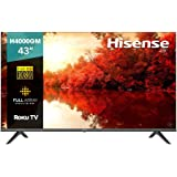 """Hisense 43"""" H4000GM Roku TV con Asistente de Google/Alexa (43H4000GM, 2020)"""