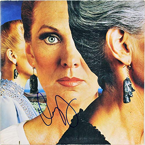 Dennis Deyoung Styx Signed Pieces of Eight Album Cover W/Vinyl BAS #H63868