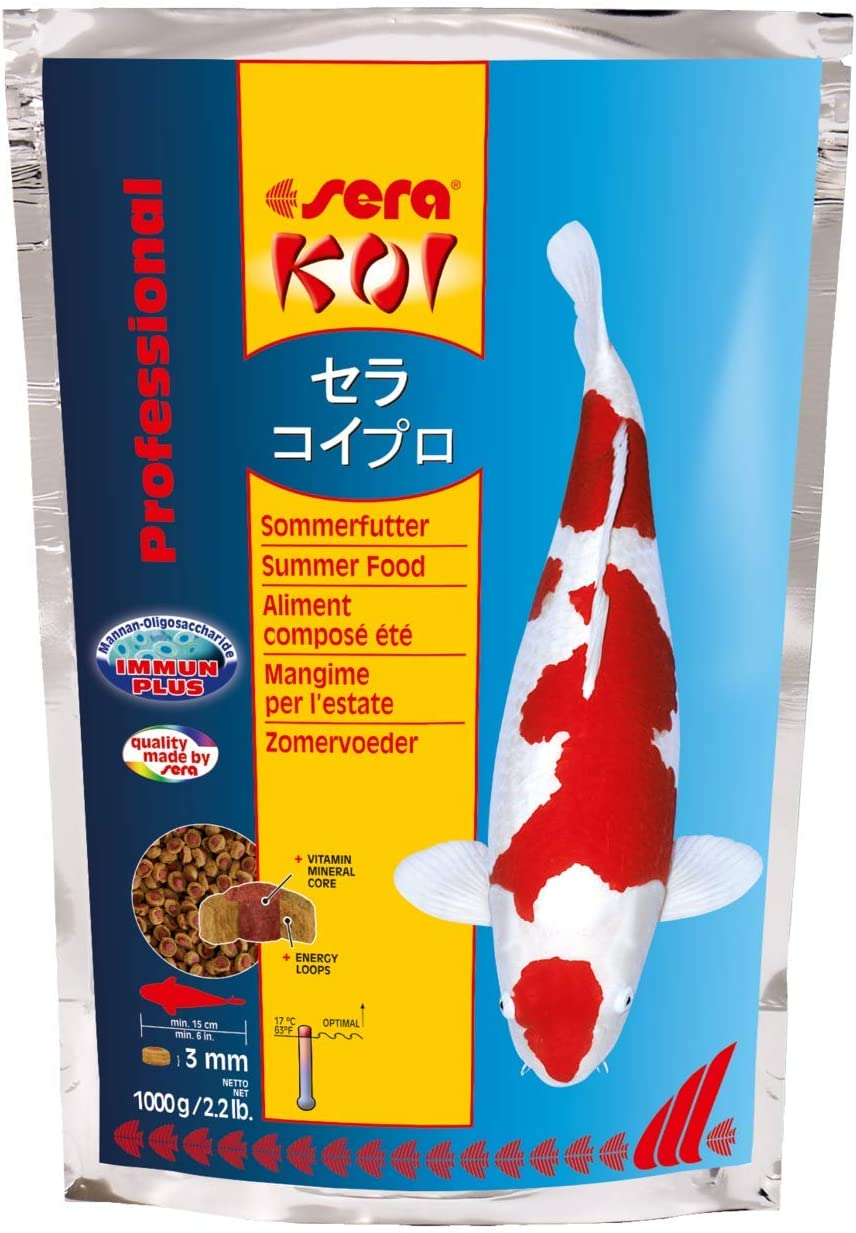 Sera Koi Professional Summer Pet Food, 2.2 Pound Bag