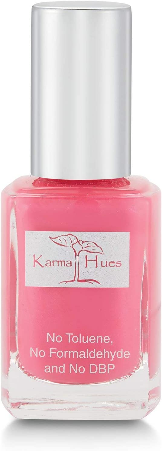 Karma Organic Natural Nail Polish-Non-Toxic Nail Art, Vegan and Cruelty-Free Nail Paint (Beachy Chic)