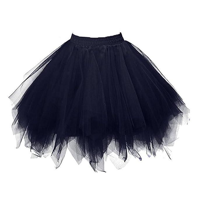Bettli Girls's Short Vintage Short Tulle Petticoat eeea0b