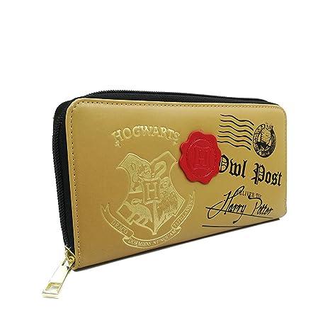 Harry Potter Hogwarts Owl Post Marrón Carta Moneda y tarjeta ...