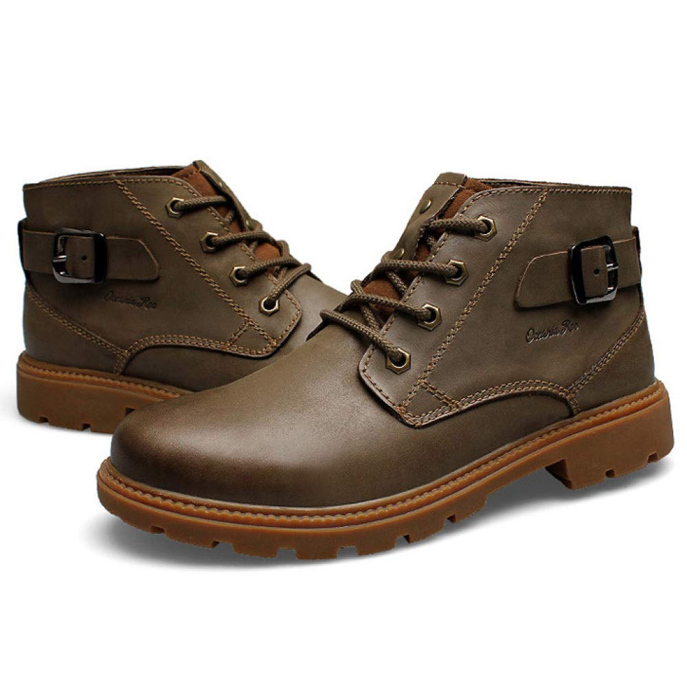 Retro Herren Martin Stiefel Schnüren Sich Oben Hohe Ankle Spitzenschuhe Ankle Hohe Stiefel Outdoor Trekking Hikking Schuhe Wüste Arbeitssicherheitsschuhe Schuhe dc0a60
