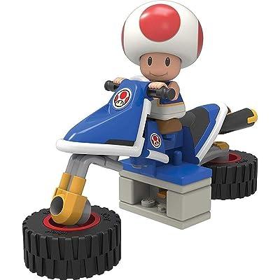 K'NEX Nintendo Mario Kart Toad Bike Building Set …: Toys & Games