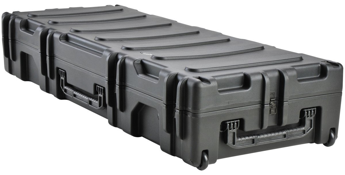 SKB 3R6223-10B-EW Roto-Molded 62 x 23 x 10 Inches Waterproof Case with Wheels and TSA Latches