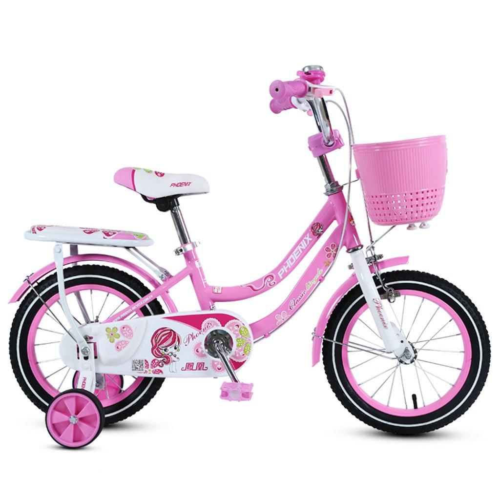 子供の自転車2-4-6歳のベビーベビーカー12/14/16/18インチの自転車キッズ自転車ピンク ( Size : 12 inches ) B07DR9GDBZ