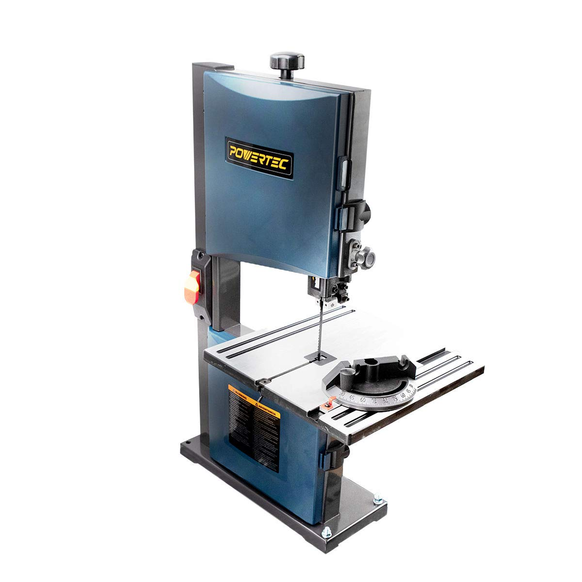 8.POWERTEC BS900 9-Inch Benchtop Band Saw