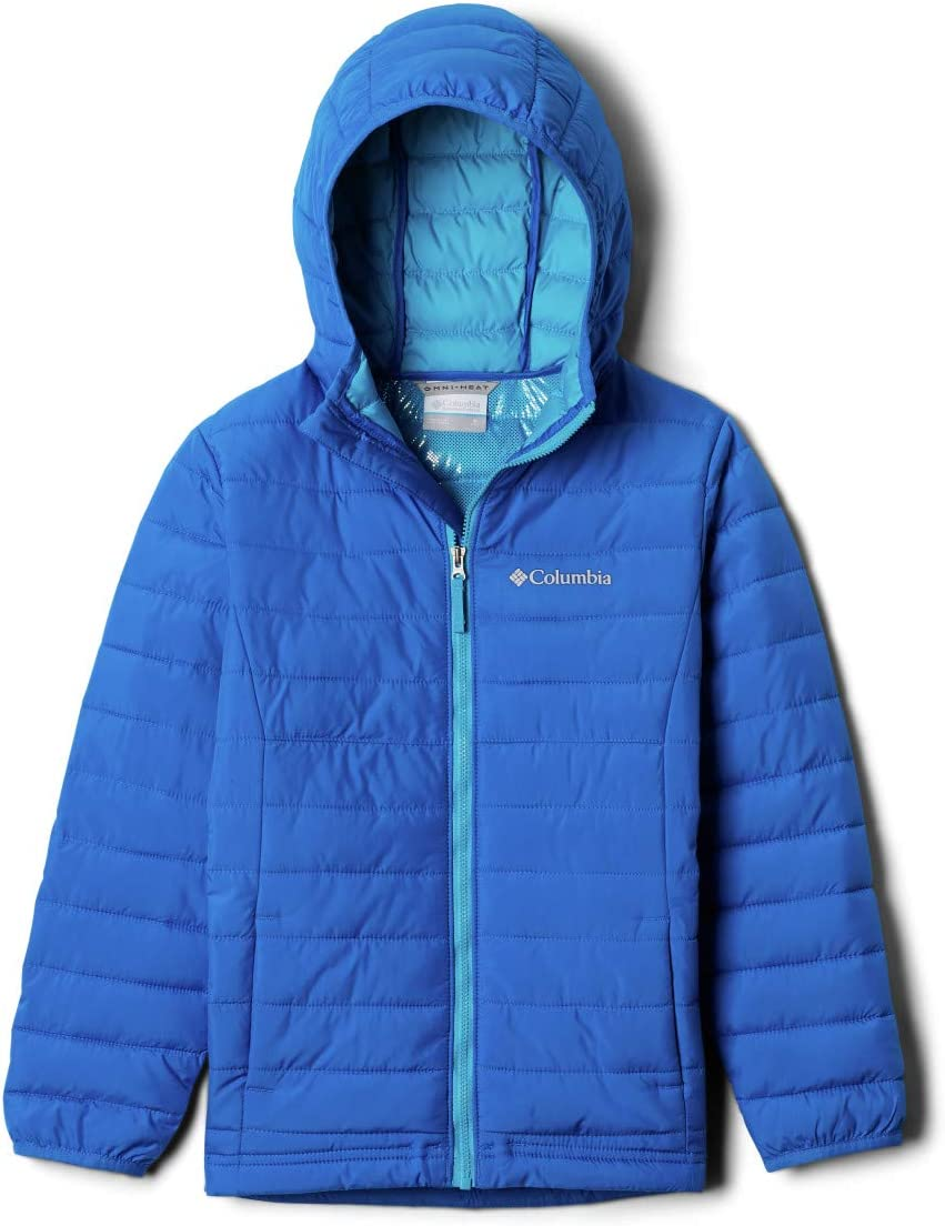 Columbia Toddler-Boys Jacket with Hood Powder Lite