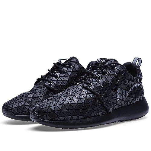 timeless design 9430a 53923 Nike Womens Roshe Run Metric QS Triple Black - Black Black-Black Size 6.5  UK  Amazon.co.uk  Shoes   Bags