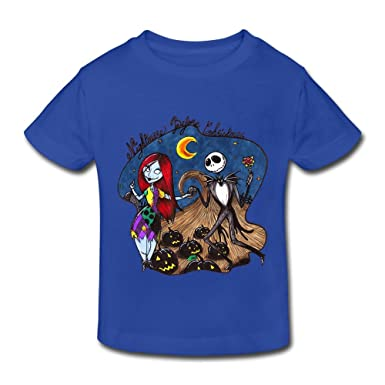 03406dae8 Amazon.com: Kids Toddler A Nightmare Before Christmas Little Boy's Girl's T- Shirt: Clothing