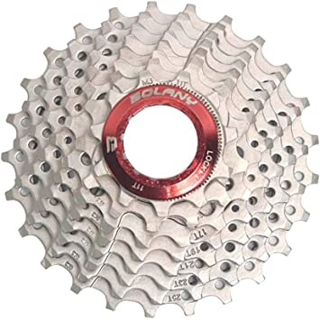 Bolany 9 Speed 11-32T Bicycle Gold Cassette Freewheel Road Bike Flywheel