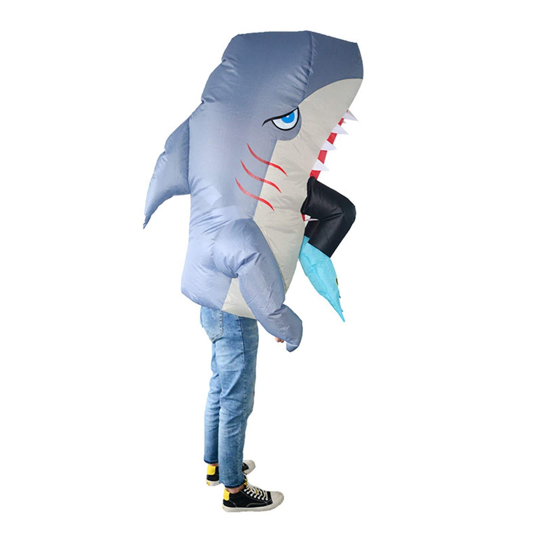 LOVEPET Cosplay Tiburón Antropófago Vestir Traje Inflable ...