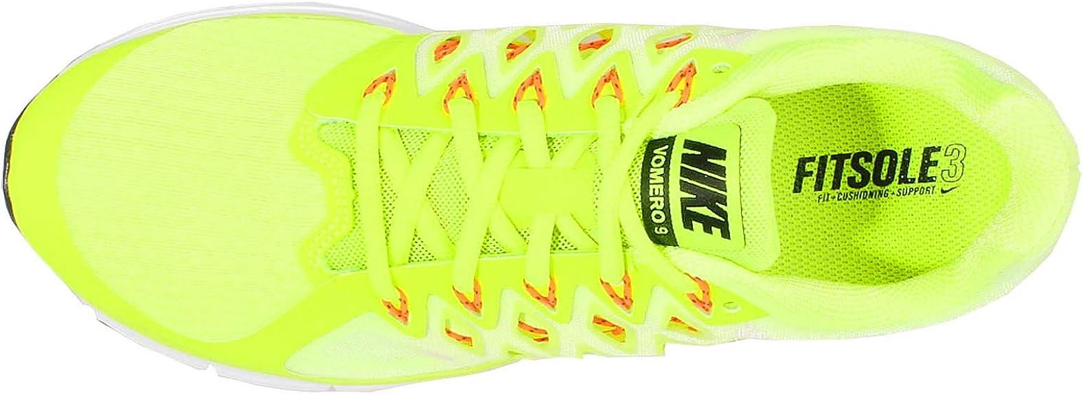 Nike Zoom Vomero 9, Zapatillas de Running para Hombre, Amarillo (Amarillo (Volt/Black-White-Total Orange), 48.5 EU: Amazon.es: Zapatos y complementos