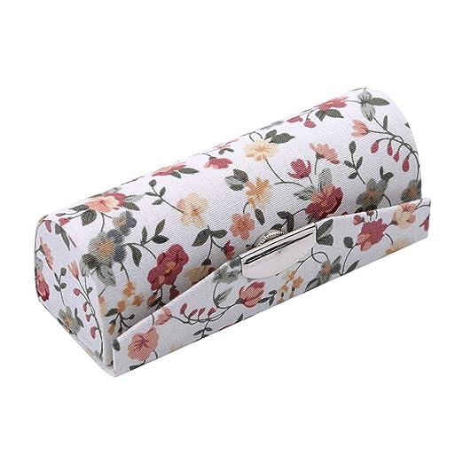 LZIYAN - Estuche para pintalabios con estampado de flores ...