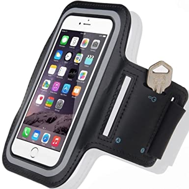 quality design 2e8cc 9d745 Cell Phone Armband: Best Sweatproof Sports Arm Band Strap Protective Holder  Pouch Case For Gym Running For iPhone 6 6S 7 7S 8 Plus Touch Samsung ...
