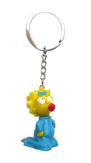 Fox The Simpsons Maggie 3D PVC Key Ring