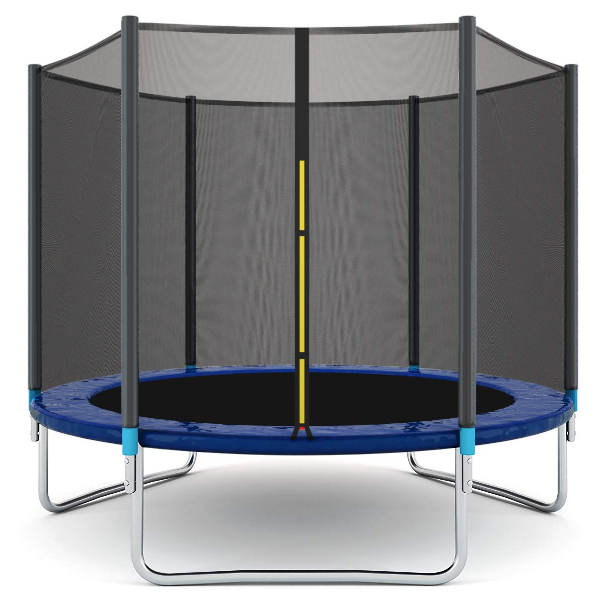Giantex Trampoline Combo Bounce Jump Safety Enclosure Net W/Spring Pad Ladder (8 FT) by Giantex (Image #1)