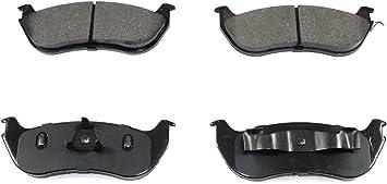 DuraGo BP881 C Rear Ceramic Brake Pad Dura International BP881C