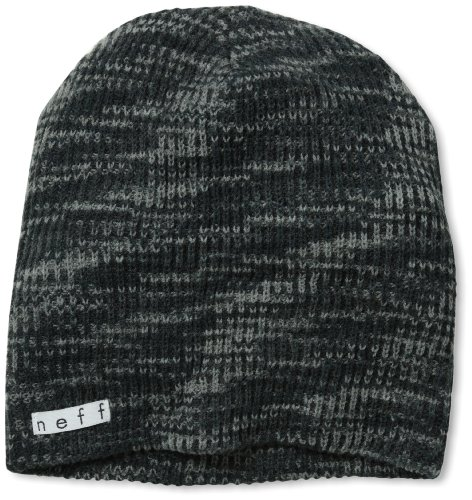 - neff Men's Daily Space Dye Beanie, Charcoal, One Size