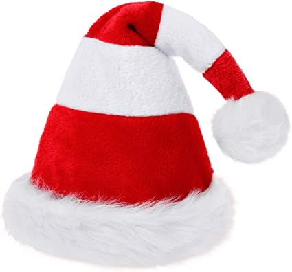 RED /& WHITE FAUX FUR CHRISTMAS GLOVES ADULT HOLIDAY ACCESSORY