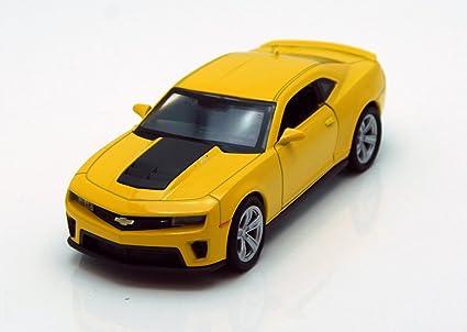 Buy Chevy Camaro Zl1 Yellow Welly 43667 45 Long Diecast Model