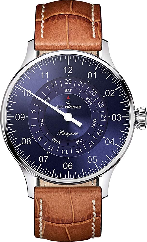 MeisterSinger men´s watch automatic-self-wind Pangaea Day Date PDD908