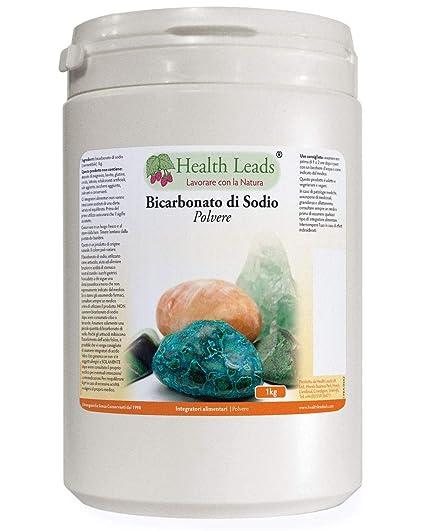 Bicarbonato de sodio 1kg (grado alimenticio)