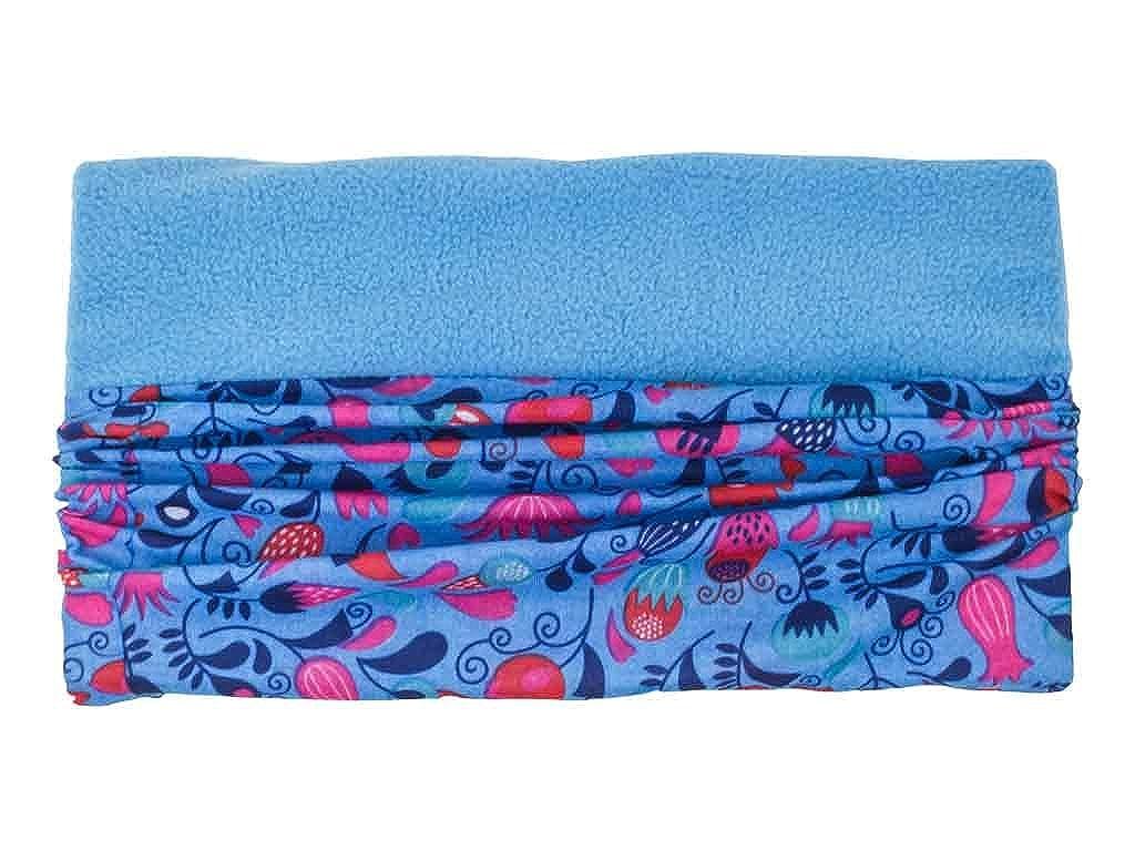 Multifunktionstuch Halstuch Stirnband Mütze Schal Loop Fleece