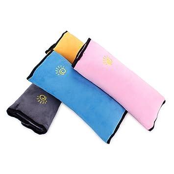 Car Shoulder Pads Vehicle Seat Belt Pillow Adjustable Seat Belt Cover for Kids
