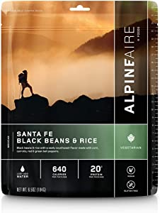 Alpine Santa Fe Black Beans & Rice Meal