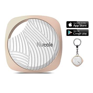 Buscador de Claves LATITOP, localizador de Seguimiento de Bluetooth Anti-pérdida para Llaves, teléfonos, billeteras, Bolsos con Control de App ...