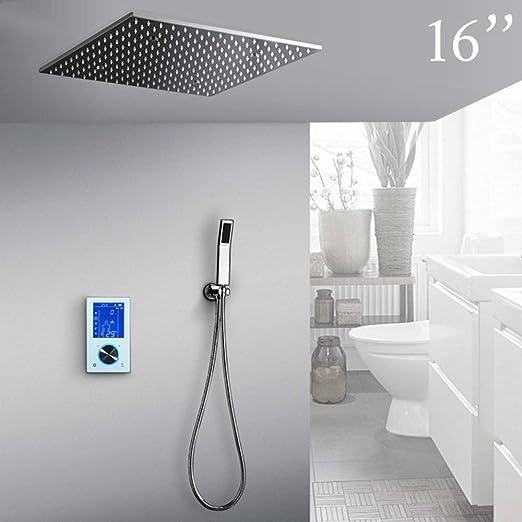 FYMIJJ Set de ducha Set de ducha Multifunción LED Sistema de ducha ...