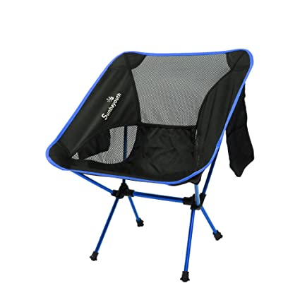 Amazon.com: sunba Youth Camp Silla, silla plegable ligero ...