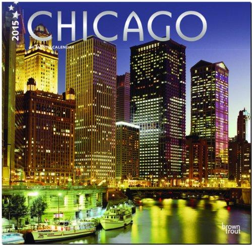 Chicago 2015 Square 12x12 (ST-Silver Foil) (Multilingual Edition)