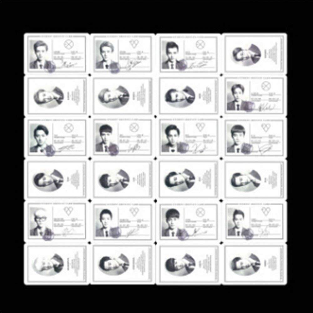 H21 Kpop Exo Foto Cartolina Marchio Lomo Carte Set Regalo per Ventole