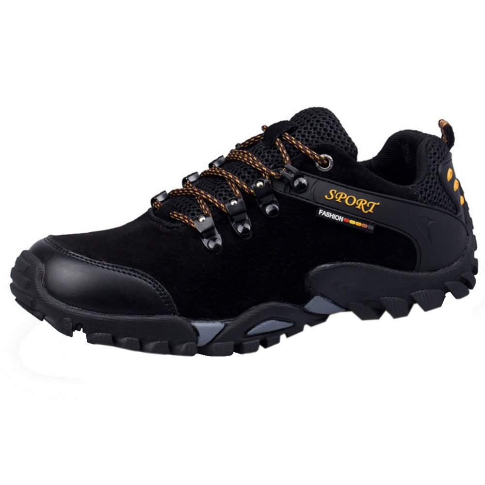 RAZAMAZA Zapatos de Trekking Hiking Shoes para Hombre 39 EU = 24.5 CM|Black
