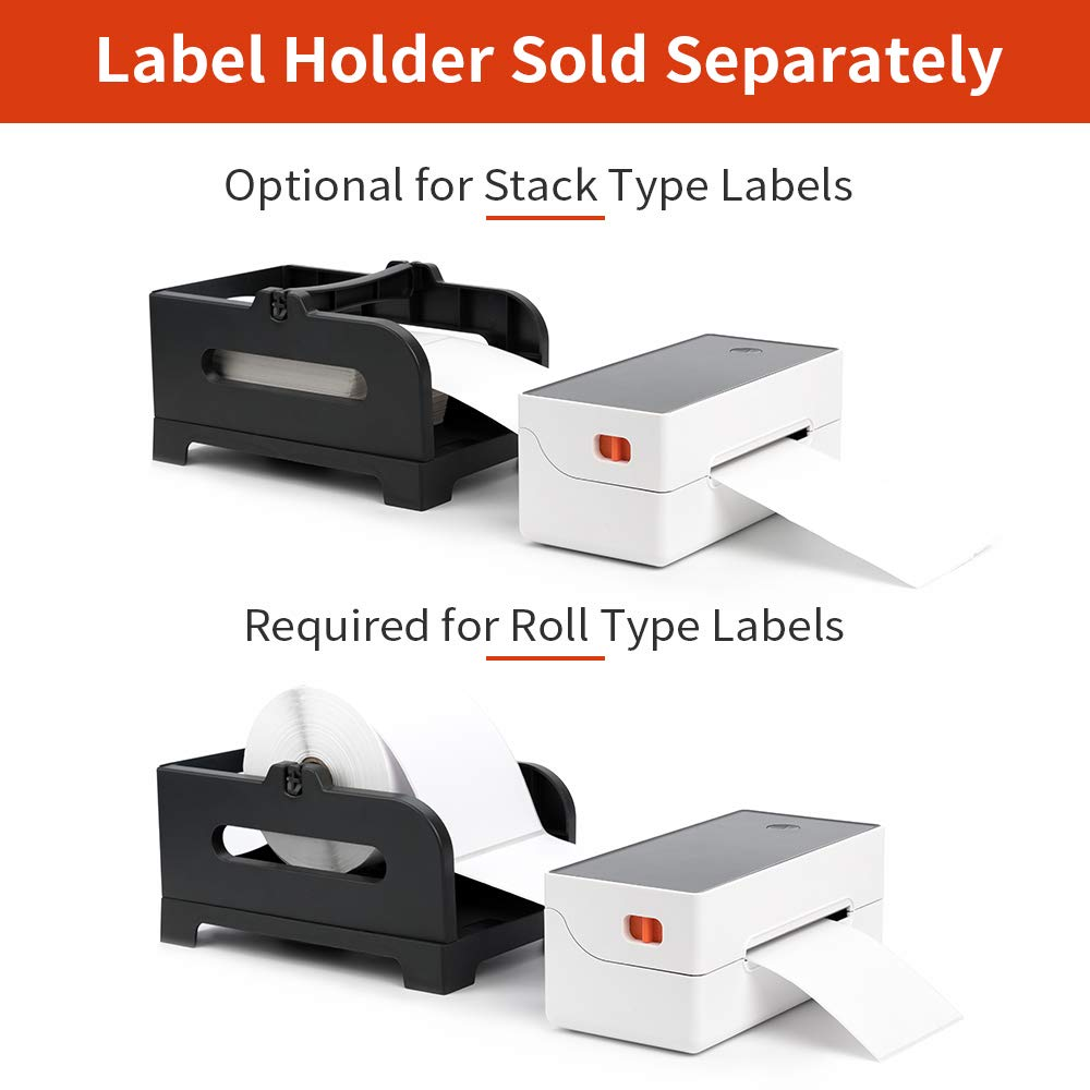 Shopify,etc Ebay Etsy Direct Thermal Printer High Speed Printing at 150mm//s- Compatible with Phomemo Label Printer with 500pcs 4/×6 Thermal Labels